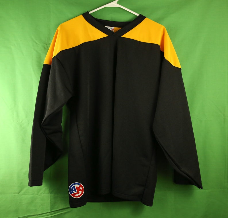 ff082ecbb Vintage 80s/90s Athletic Knit AK Hockey Jersey Football | Etsy