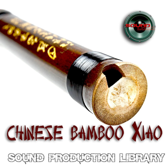 Xiao Chinese Bamboo Flute Large unique original WAVEKontakt SamplesLoops Library.