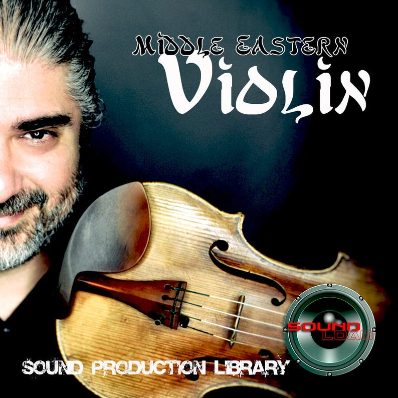 Middle Eastern Violin - unique Perfect Wave/Kontakt 24bit Multi-Layer  Samples Library on DVD