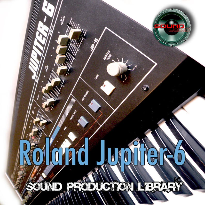 for Roland Jupiter 6 - the very Best of/unique original WAVEs studio  samples library on DVD