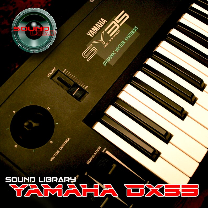 YAMAHA DX7/DX7II Large Original Factory & New Created Sound Library/Editors  Mac/PC (download)