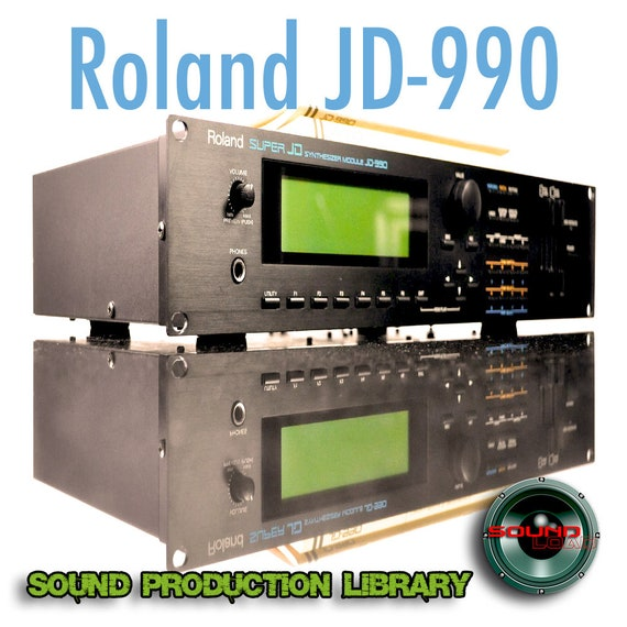 for Roland JD-990 - the very Best of - unique original Huge WAVE/Kontakt  Multi-Layer Samples Library on DVD or download