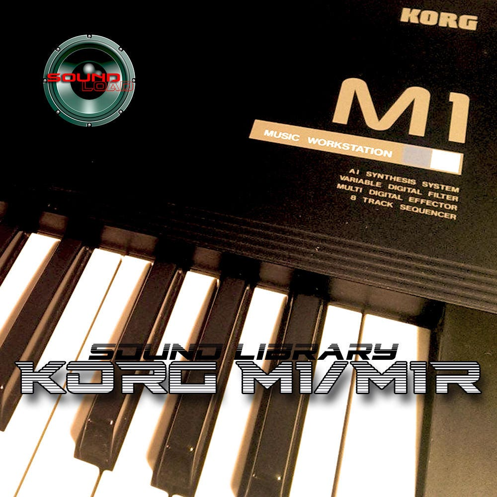 KORG M1/M1R Large Original Factory & New Created Sound Library/Editors  (download)