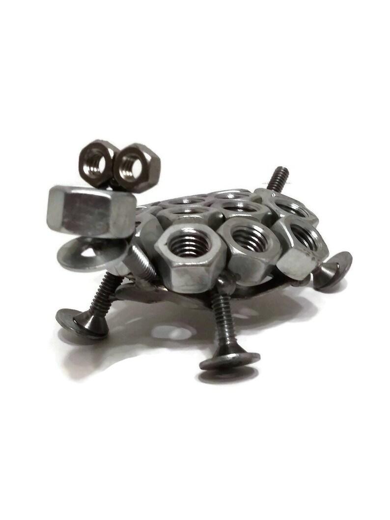 Schrott Metall Schildkröte Figur Stahl Schildkröte Schrauben Etsy