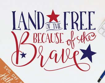 Download Home Of The Free Because Of The Brave Svg Free Images