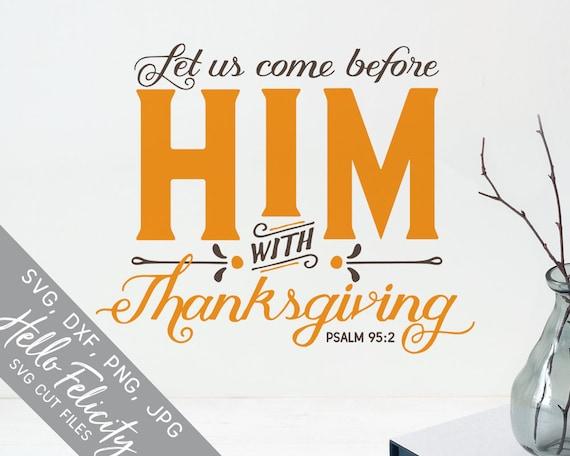Items similar to Bible Verse Svg, Fall Svg, Thanksgiving ...