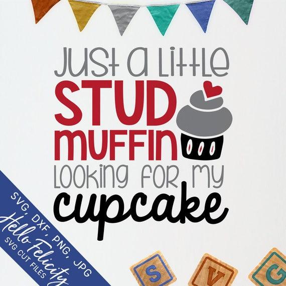 Valentine Svg Stud Muffin Svg Cupcake Svg Dxf Svg Files Etsy