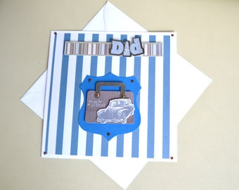 Handmade Fathers Day 'Dad' Card