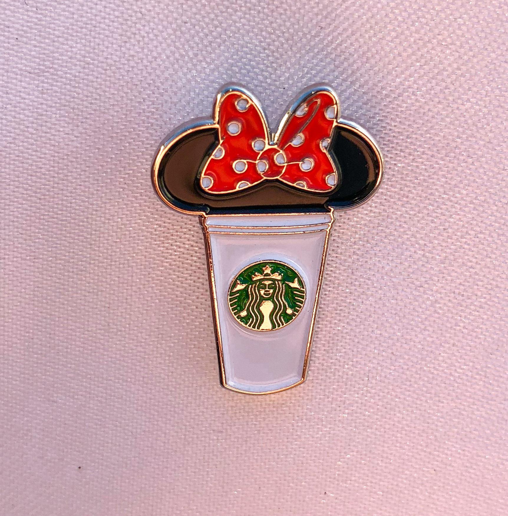 Minnie Starbucks Cup Pin Minnie pins minnie mouse pin
