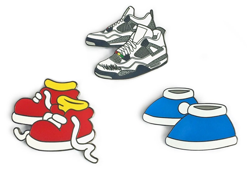 Iconic Kicks Pins | Do the Right Thing Pin | Rugrats Pin | Simpsons Pin | Tommy Pickles | Sneaker Pins | Nickelodeon Pin | Bart Simpson