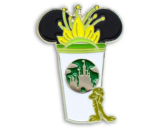 Princess and the Frog  Castle Coffee Cup Pin | Tiana Pins | Movie Pins | Disney Inspired