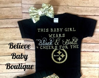 pittsburgh steelers baby outfit, nfl baby onesie, steelers baby outfit, dolphins daddy, steelers onesie, pitt baby, steelers kids, nfl babe
