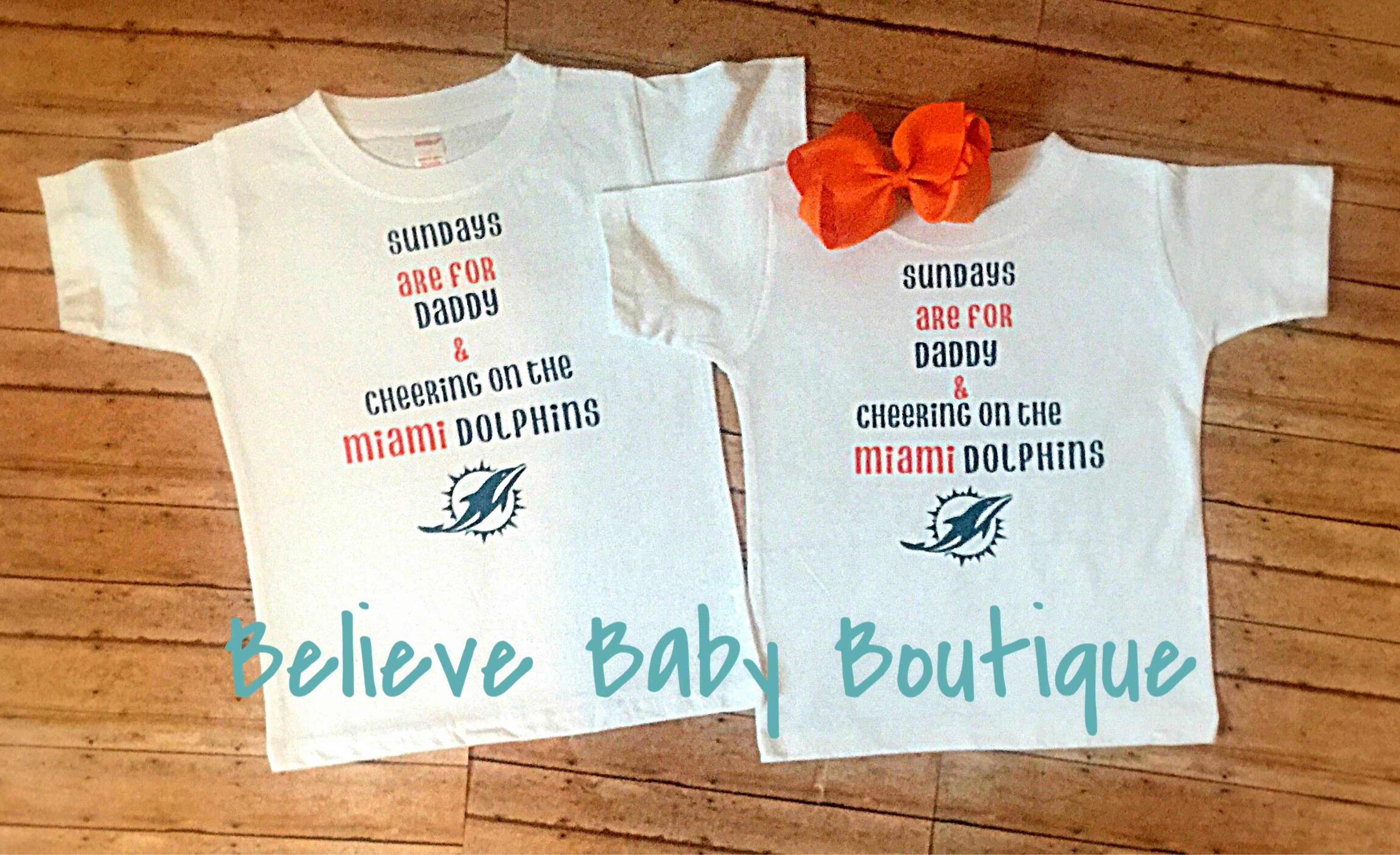 70de5651 miami dolphins baby outfit, nfl baby onesie, Miami baby outfit ...