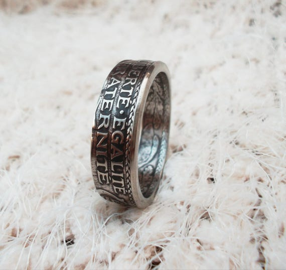 Frankreich Münze Ring 25 Centimes Ringe Aus Münzen Etsy