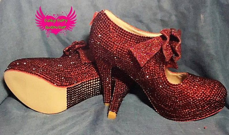 a4acbb58c Oz shoes customised shoes womens shoes red shoesbling
