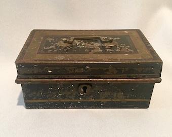 steampunk lock box etsy