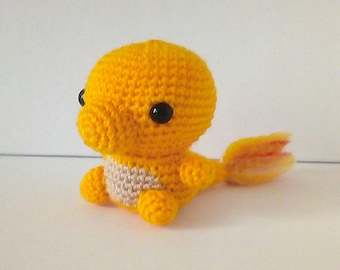 Charmander Crochet Plushie
