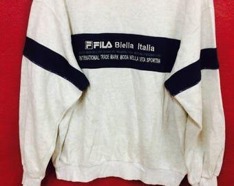 vintage Fila biella italia hip hop swag size S
