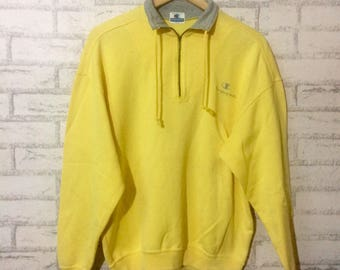 Vintage Champion half zipper sweatshirt..hip hop swag..nice condition..saiz large