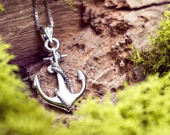Anchor Necklace Pendant