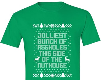 Jolliest Bunch Of Christmas Vacation Shirt Etsy