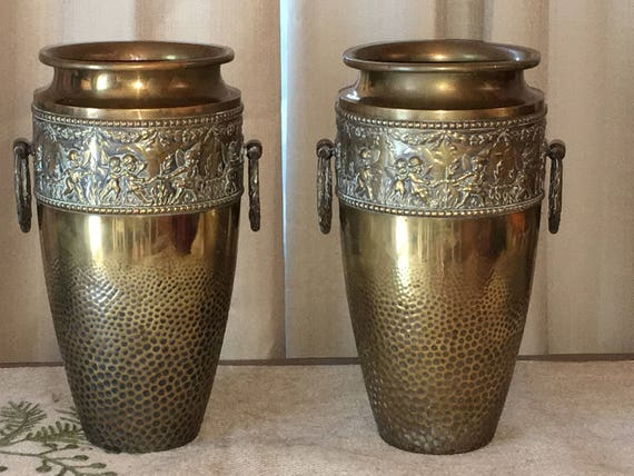 Beldray Brass Vases Etsy
