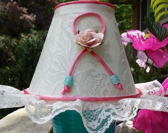 Lamp Shade, Shabby Chic