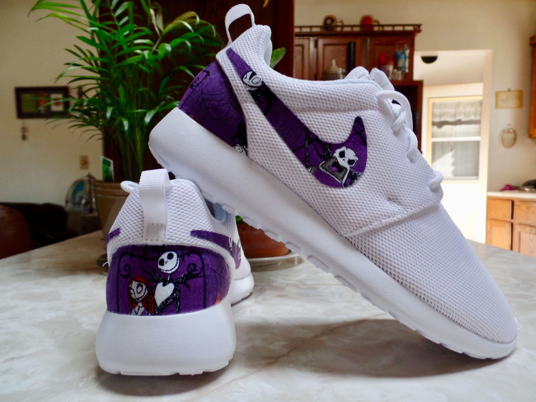 Nightmare Before Christmas Shoes Custom Nike Roshe One | Etsy