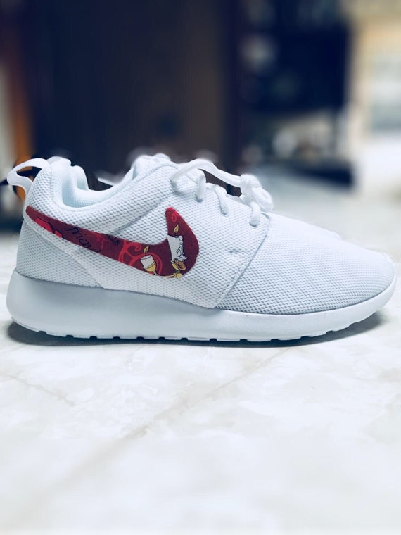 Beauty And The Beast Shoes Custom Nike Roshe One Etsy