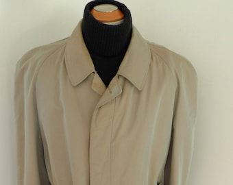 Authentic WESTBURY TRENCH Coat Vintage Overcoat KULMBACH European made