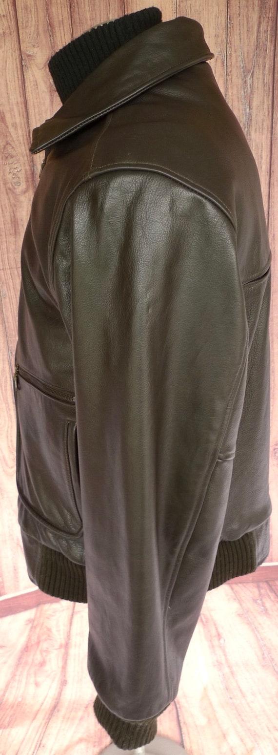 d60561b8c Rare! BOD & CHRiSTENSEN AViREX Type A-2 Brown LEATHER Flight Bomber Jacket  Coat