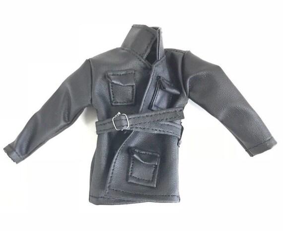 04f9e538df6aa PB-BNJ-BK  FIGLot 1 12 Trialmaster Jacket for Mattel Mafex