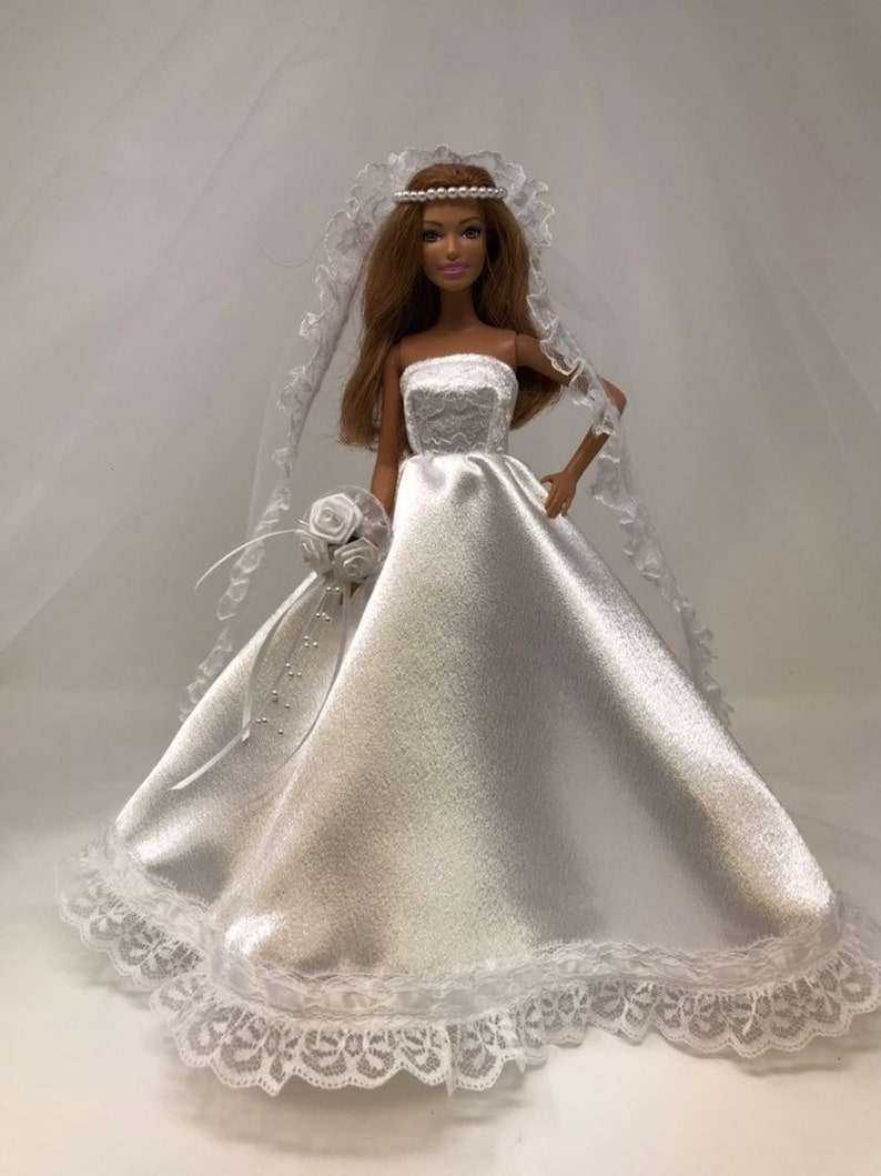 d0b0b9769cb38 Doll Wedding Dress-11.5