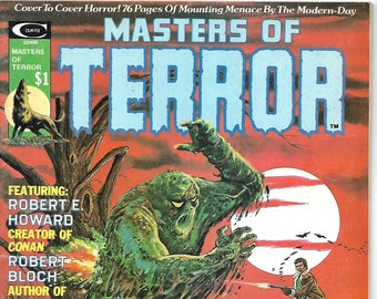 Stan Lee Presents Masters Of Terror vol.1 #1 | July 1975 | It! | H.P. Lovecraft