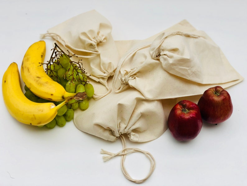 2 x 3 Inches Cotton Natural Single Drawstring Bag Quantity: 1000 Great for Packaging High Quality Bags Premium Quality