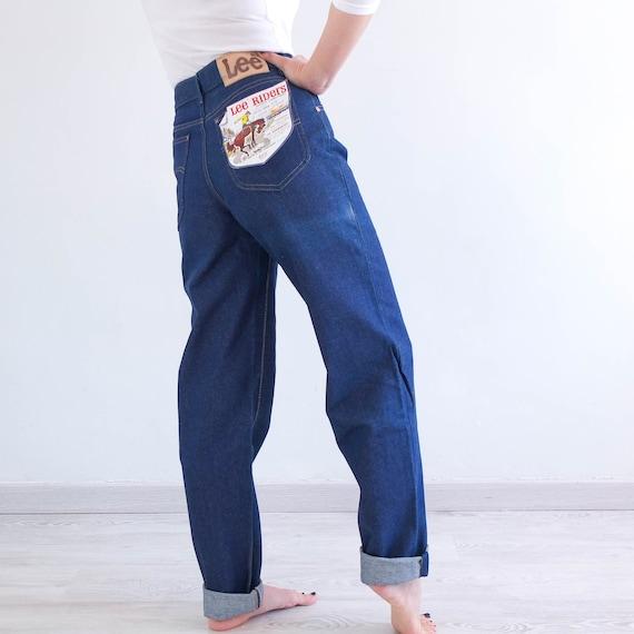 Vintage high waist Lee Riders jeans, Vintage women