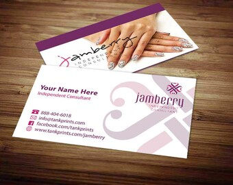 Jamberry business cards etsy jamberry business card design 3 reheart Image collections
