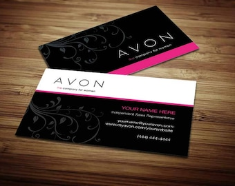 Avon business cards etsy fbccfo Gallery