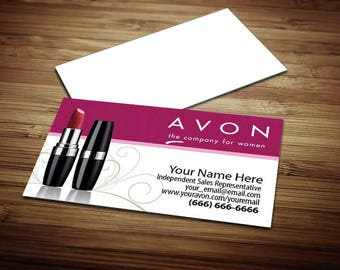 Avon Business Card Design 1