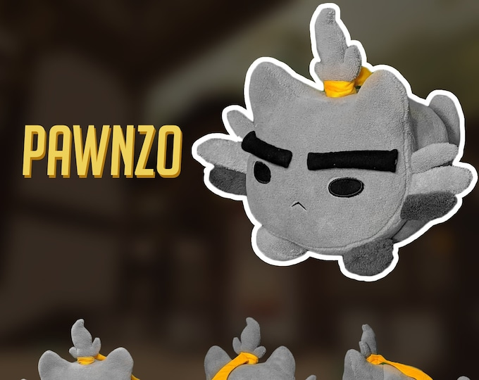 Featured listing image: PRE-ORDER Pawnzo Katsuwatch - Katsuhead Plush