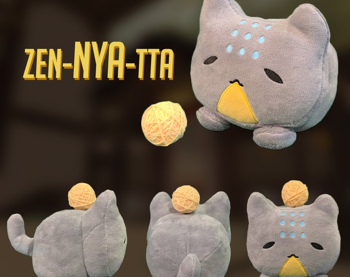 Featured listing image: Zen-NYA-tta Katsuwatch - Katsuhead Plush