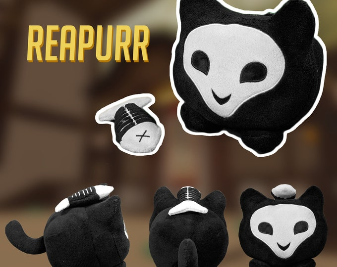 Featured listing image: PRE-ORDER Reapurr Katsuwatch - Katsuhead Plush