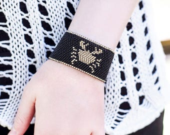 Zodiac Cancer Woman Gift|for|Girlfriend Gift Idea Birthday Gift|for|Woman Bracelet Zodiac Jewelry Cancer Jewelry Gift July Gifts Cancer Gift