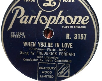 Frederick Ferrari, When You're In Love-Take Me To Your Heart Again - R.3157