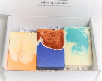 Artisan Soap Trio Gentle Bar Soap