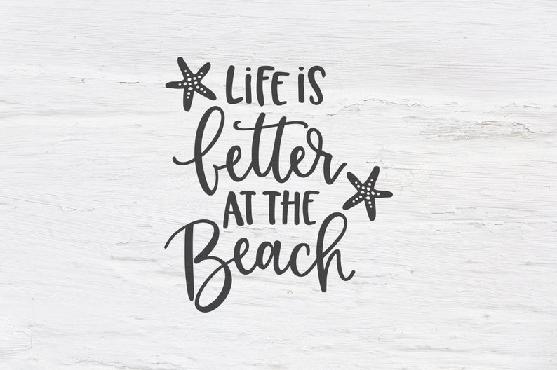 1b871205ab Life is better at the Beach svg Beach svg Summer Ocean | Etsy