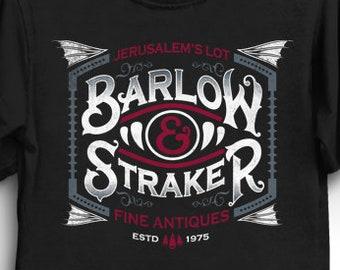 Barlow & Straker - Stephen King T-Shirt | Horror Shirt | Salem's Lot T-Shirt