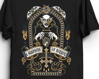 9f66183b96 A Symphony of Horrors I - Nosferatu T-Shirt | Horror T-Shirt | Gothic Shirt
