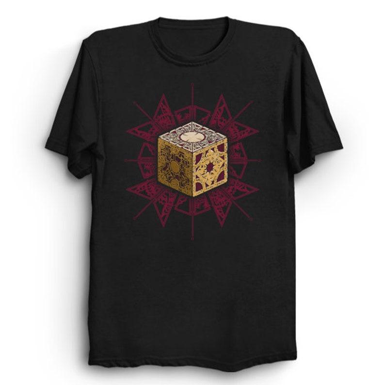 0bfe1b01ed Lament Configuration Hellraiser T-Shirt Horror Shirt | Etsy
