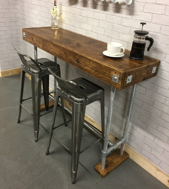 Breakfast Bar Table / Kitchen Table / Cafe Table / Kitchen Bar | Etsy